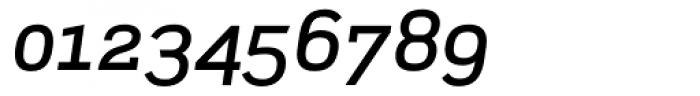 Scene Medium Italic Font OTHER CHARS