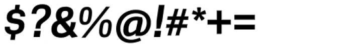 Scene Pro Bold Italic Font OTHER CHARS