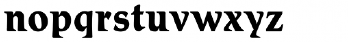 Schadow Antiqua D Bold Font LOWERCASE