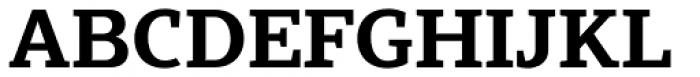 Scharf Bold Font UPPERCASE