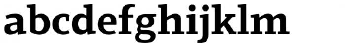 Scharf Bold Font LOWERCASE