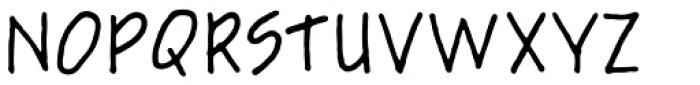 Schema Font UPPERCASE