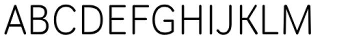 Scheme Light Font UPPERCASE