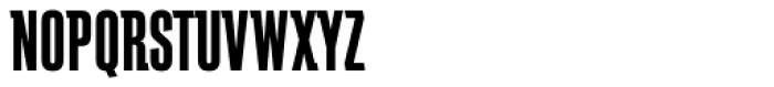 Schindler RR Bold Font UPPERCASE