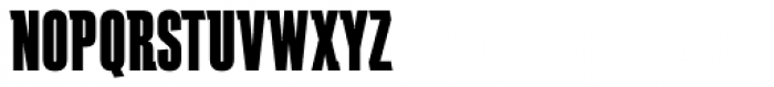 Schindler RR ExtraBold Font UPPERCASE