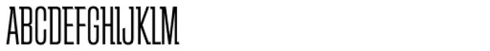 Schindler RR Light Font UPPERCASE