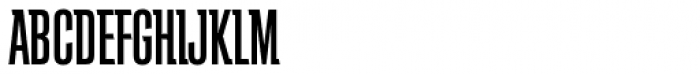 Schindler RR Medium Font UPPERCASE