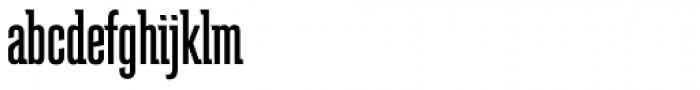 Schindler RR Medium Font LOWERCASE