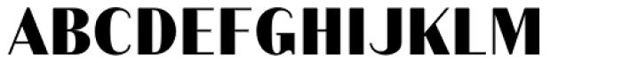 Schism One Black Font UPPERCASE