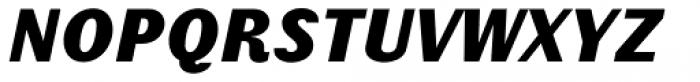 Schism Three Black Italic Font UPPERCASE