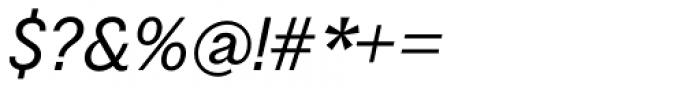 Schism Three Light Italic Font OTHER CHARS