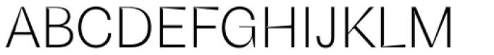Schizotype Grotesk Light Font UPPERCASE