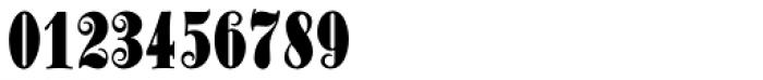 Schmale Anzeigenfraktur Font OTHER CHARS
