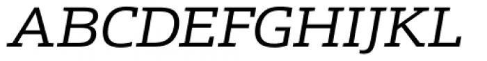 Schnebel Slab Pro Expanded Italic Font UPPERCASE