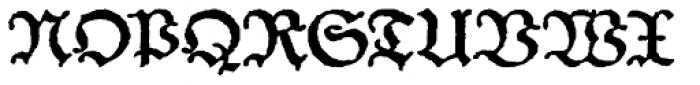Schneider Buch Deutsch Expanded Font UPPERCASE