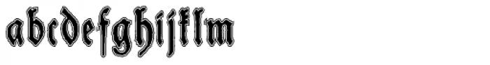 Schneider Buch Deutsch Lined Font LOWERCASE