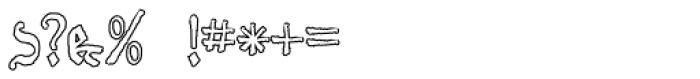 Schneider Buch Deutsch Outline Font OTHER CHARS