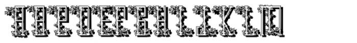 Schneider High Kontrast2 Shadow Font UPPERCASE