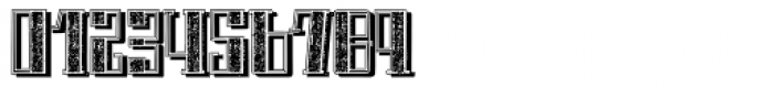 Schneider Kontrast4 Shadow Font OTHER CHARS