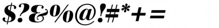 Schneider Libretto BQ Bold Italic Font OTHER CHARS