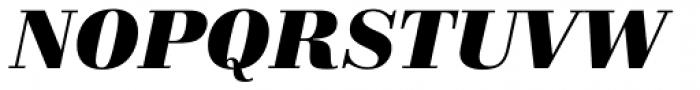 Schneider Libretto BQ Bold Italic Font UPPERCASE