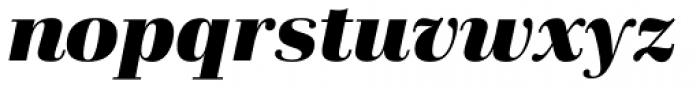 Schneider Libretto BQ Bold Italic Font LOWERCASE
