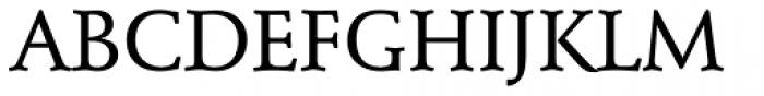 Schneidler EF Medium Font UPPERCASE