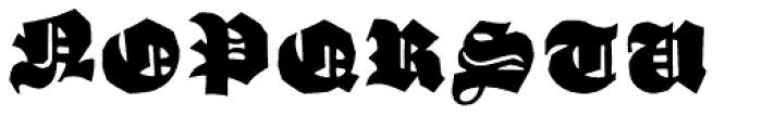 Schneidler Grobe Gotisch Font UPPERCASE