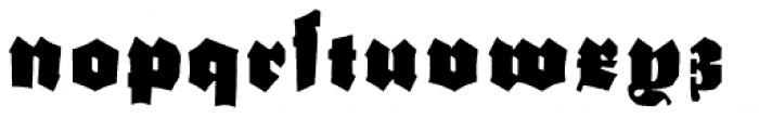 Schneidler Grobe Gotisch Font LOWERCASE