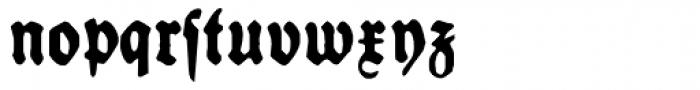 Schneidler Halb Fette Deutsch Font LOWERCASE