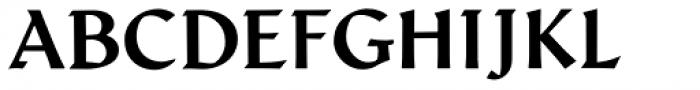 Schneidler Latein Bold Font UPPERCASE