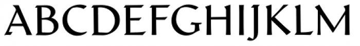 Schneidler Latein Book Font UPPERCASE
