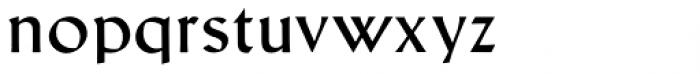 Schneidler Latein Book Font LOWERCASE