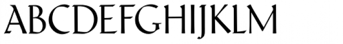 Schneidler Latein Display Font UPPERCASE