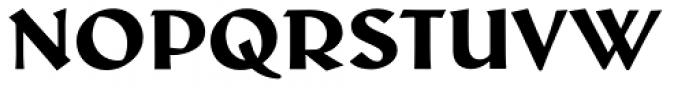 Schneidler Latein Heavy Font UPPERCASE