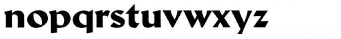 Schneidler Latein Heavy Font LOWERCASE