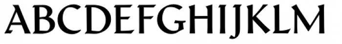 Schneidler Latein Medium Font UPPERCASE