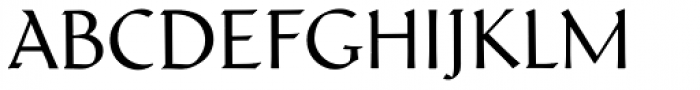 Schneidler Latein Regular Font UPPERCASE