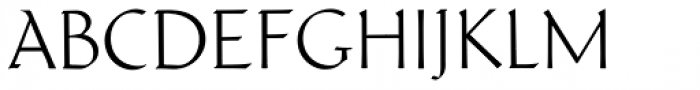 Schneidler Latein Thin Font UPPERCASE
