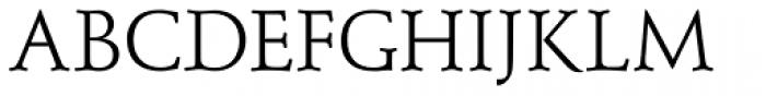 Schneidler Mediaeval Regular Font UPPERCASE