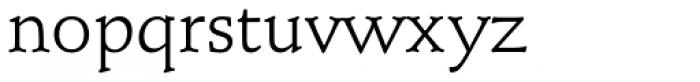 Schneidler Mediaeval Regular Font LOWERCASE