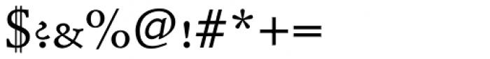 Schneidler Mediaeval SC Medium Font OTHER CHARS