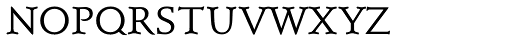 Schneidler Mediaeval SC Regular Font LOWERCASE