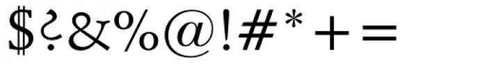 Schneidler Medium Font OTHER CHARS