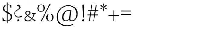 Schneidler SB Light SC Font OTHER CHARS