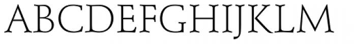 Schneidler SB Light SC Font UPPERCASE