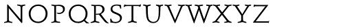 Schneidler SB Light SC Font LOWERCASE