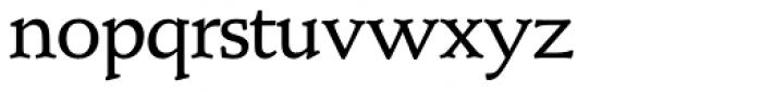 Schneidler SH Medium Font LOWERCASE