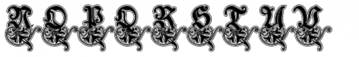 Schneidler Zierbuchstablen Lined Font LOWERCASE