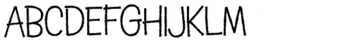 Schnitzle AOE Font UPPERCASE